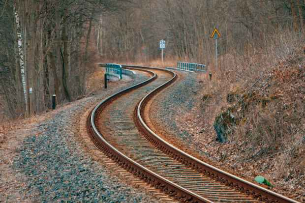 photo of railway track